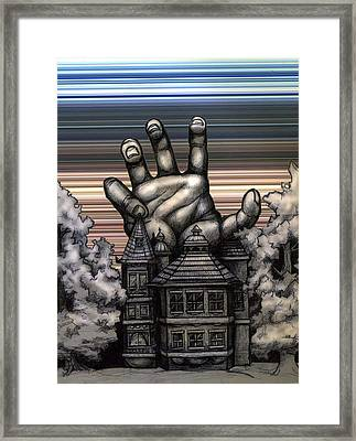 House Crusher Framed Print