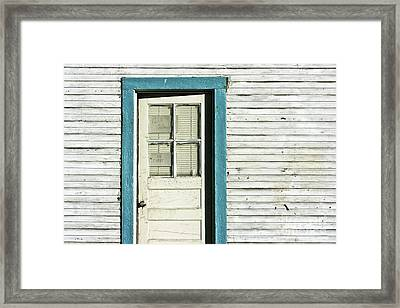 House Detail Carson City Nevada After Harry Callahan Framed Print by Gus McCrea