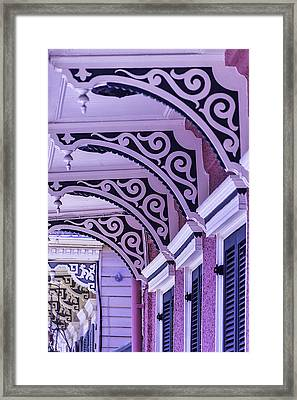 House Details Framed Print