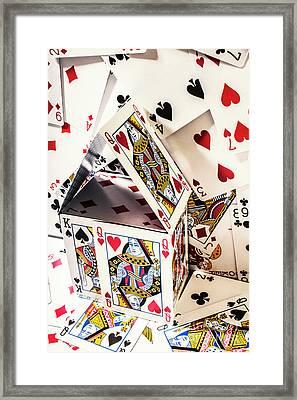 House Edge Framed Print
