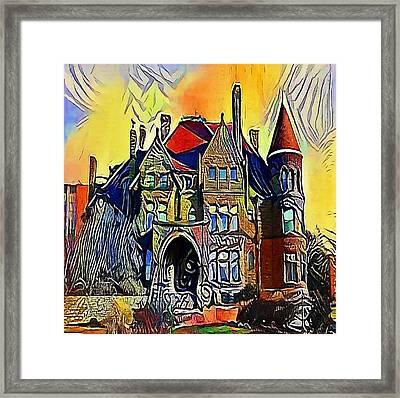 house england - My WWW vikinek-art.com Framed Print by Viktor Lebeda