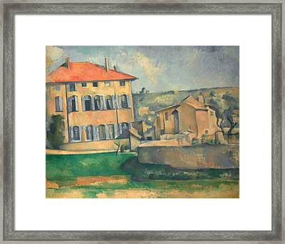 House In Aix  Framed Print