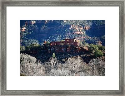 House Of Apache Fires Framed Print by Jennilyn Benedicto