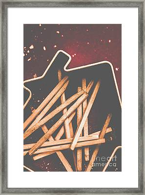 House Of Arson Framed Print by Jorgo Photography - Wall Art Gallery