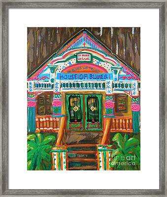 House Of Blues Framed Print