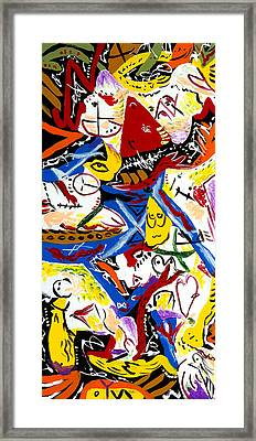 House Of Cards Framed Print by Wayne Salvatore