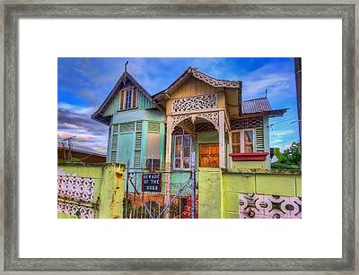 House Of Colors Framed Print