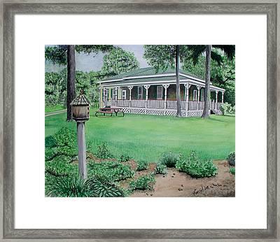House Of David Framed Print by Ferrel Cordle