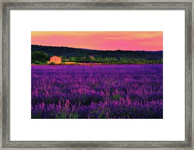 House Of Dream Framed Print