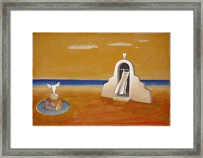House Of Eros Framed Print by Dimitris Milionis