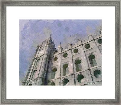 House Of Faith Framed Print