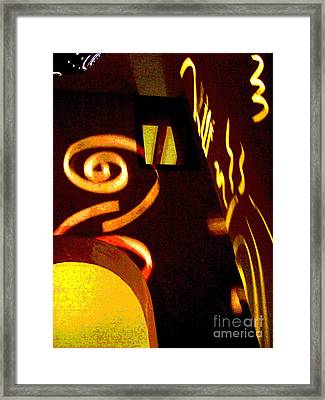 House Of Runes 3 By Darian Day Framed Print by Mexicolors Art Photography