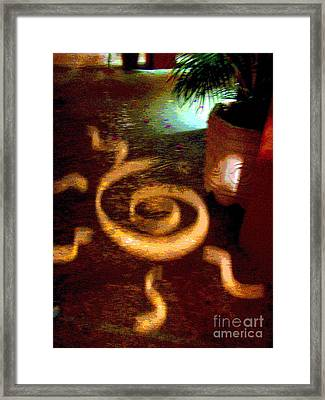 House Of Runes 4 By Darian Day Framed Print