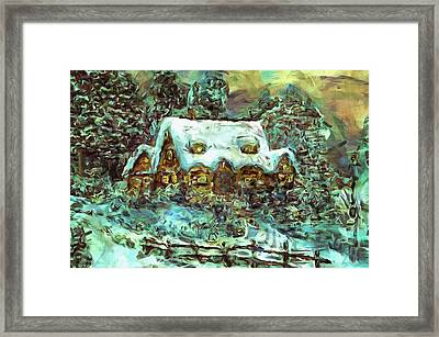 House Of Solace Framed Print