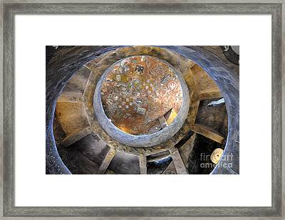 House Of The Hopi Framed Print by David Lee Thompson