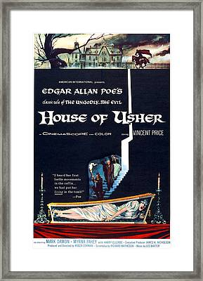 House Of Usher, Aka The Fall Of The Framed Print