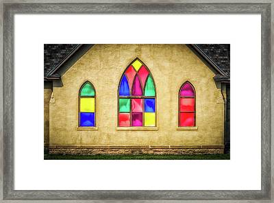 House Of Worship Framed Print