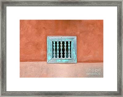 House Of Zuni Framed Print by David Lee Thompson