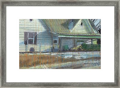 House On Cherokee Street Framed Print by Donald Maier