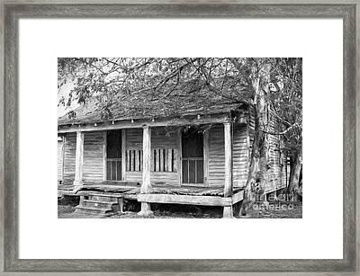 House On Chetimaches St 2 - La - Digital Art Framed Print by Kathleen K Parker