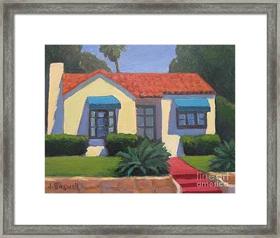 House On Cota Framed Print
