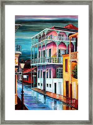 House On Dauphine Street Framed Print by Diane Millsap
