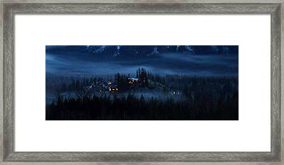 House On Haunted Hill Pemberton Framed Print by Pierre Leclerc Photography