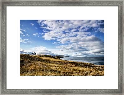 House On The Coast Framed Print by Scott Kemper