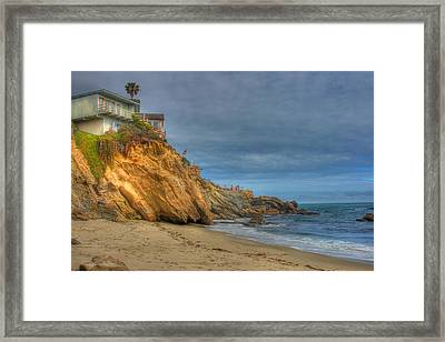 House On The Rock Framed Print by Itay Dollinger