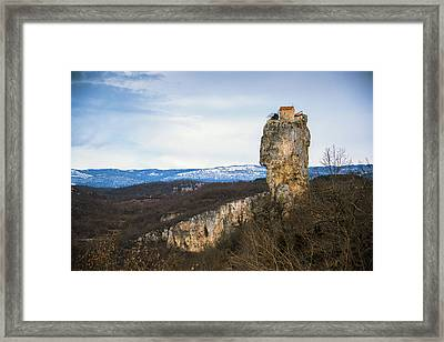 House On The Rock Framed Print by Svetlana Sewell
