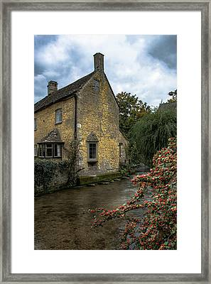 House On The Water Framed Print