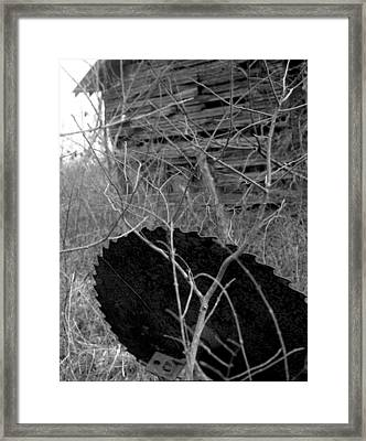 House-saw-old Framed Print