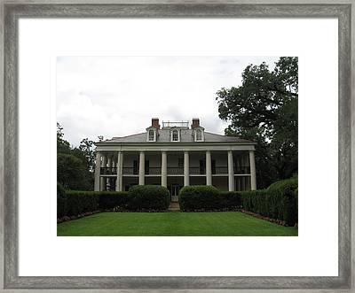 House Side Framed Print by Mily Iriarte