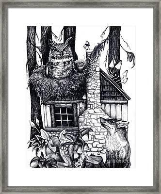 House Sitter No. 3 Framed Print