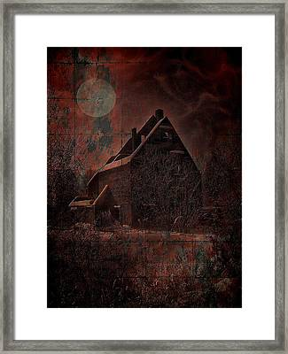 House With A Story To Tell Framed Print by Mimulux patricia no No
