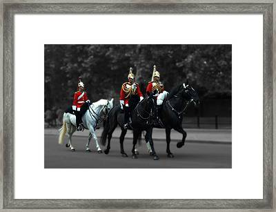 Household Cavalry Framed Print