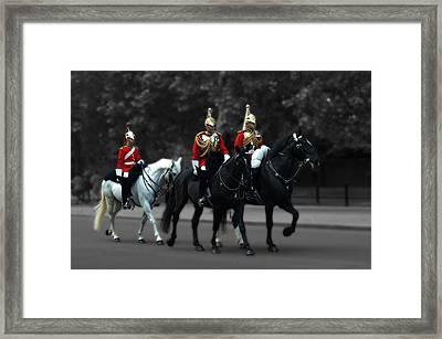Household Cavalry Framed Print