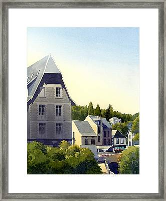 Houses At Murol Framed Print