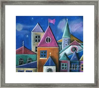 Houses Framed Print