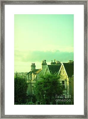 Framed Print featuring the photograph Houses by Jill Battaglia