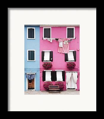 Venice House Framed Prints