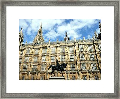 Houses Of Parliament Framed Print by Dmytro Toptygin