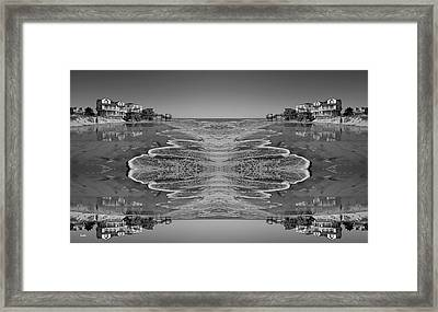 Houses On The Watch Framed Print by Betsy Knapp