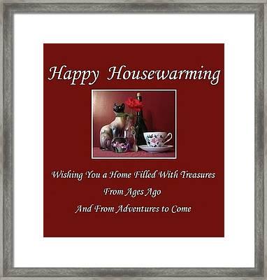 Housewarming  Framed Print
