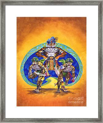 Houshank's Justice Framed Print by Melissa A Benson