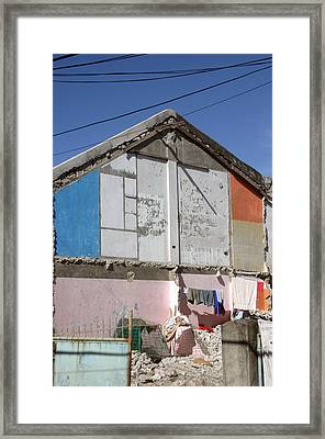 Housing 2 Framed Print by Jez C Self