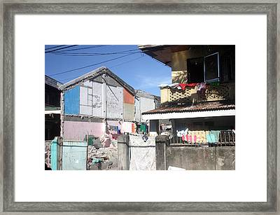 Housing Framed Print by Jez C Self