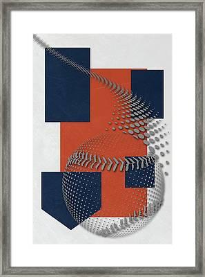 Houston Astros Art Framed Print by Joe Hamilton
