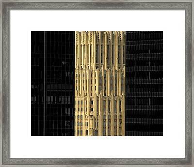 Houston Texas Framed Print