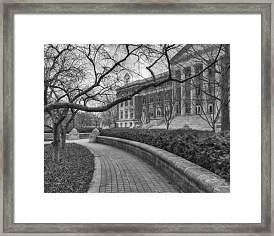 Hovde Hall Framed Print